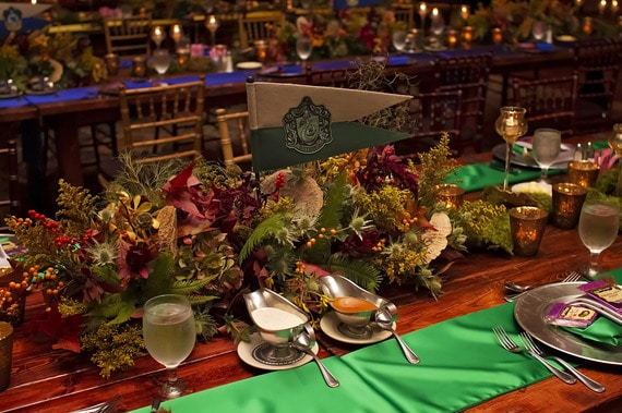table mariage harry potter